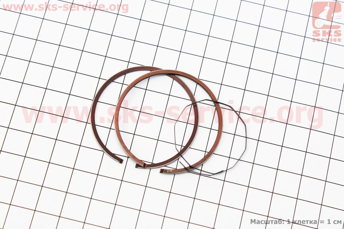 Кільця поршневі Honda DIO65 43мм STD (замки верхні) (347526)