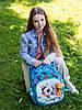 Набор школьный для девочки рюкзак SkyName R3-228 + мешок для обуви, фото 6