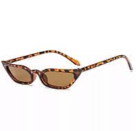Сонцезахисні окуляри котяче око леопардові