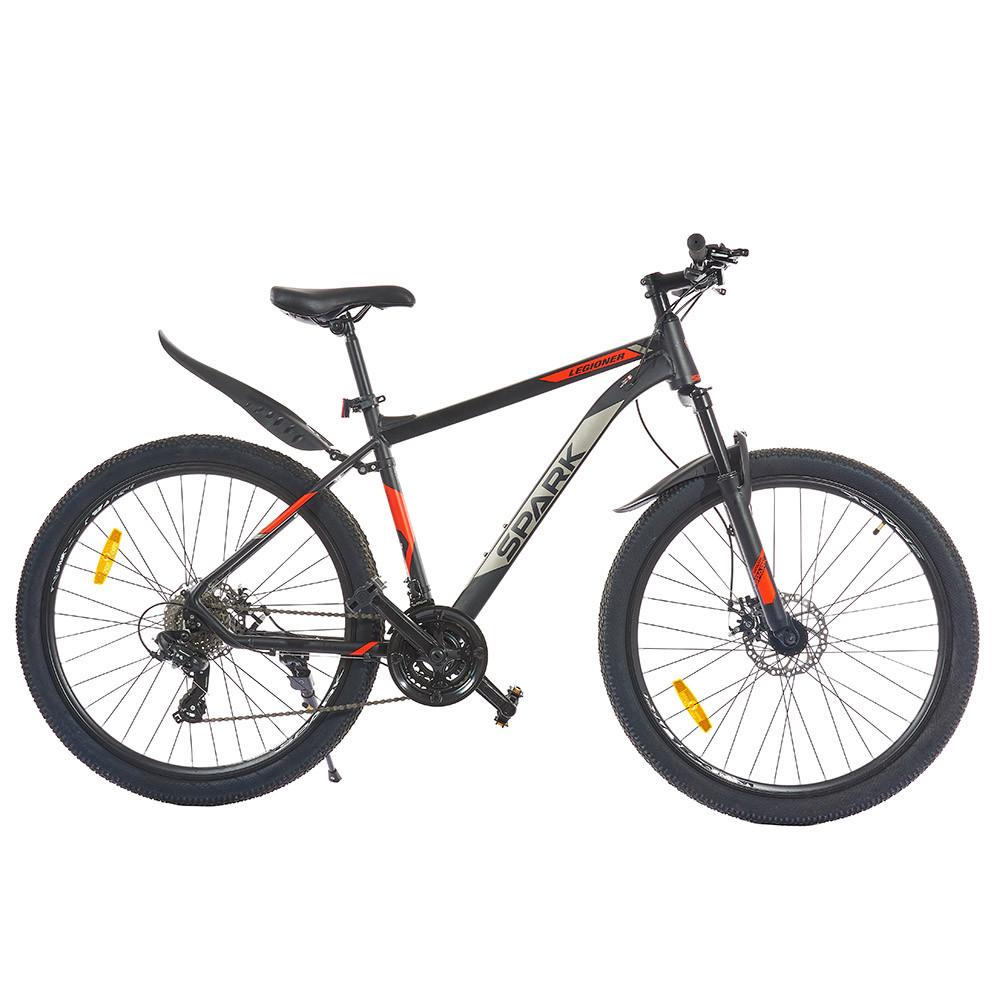 Велосипед SPARK LEGIONER 27,5-Al-19-AML-D Shimano (Черный с красным)