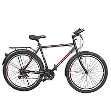 Велосипед SPARK ROUGH 26-ST-20-ZV-V (Черный с красным)