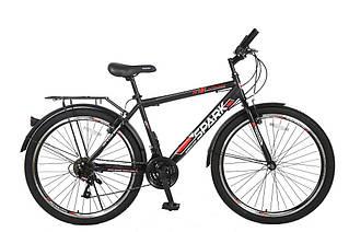 Велосипед SPARK INTRUDER 26-ST-18-ZV-V (Черный с красным)