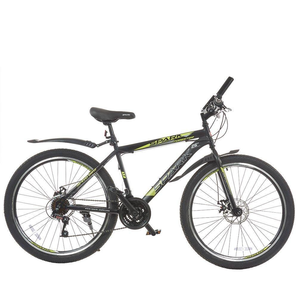 Велосипед SPARK FORESTER 26-ST-17-ZV-D (Черный с желтым)