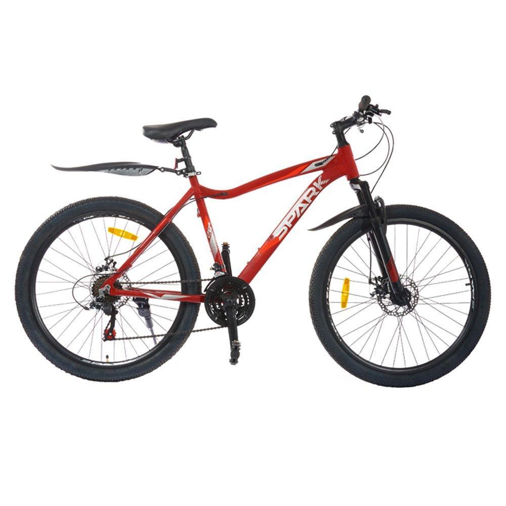 Велосипед SPARK DAN 26-AL-19-AM-D (Червоний з жовтогарячим)