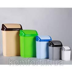 Ведро для мусора Домик 16л