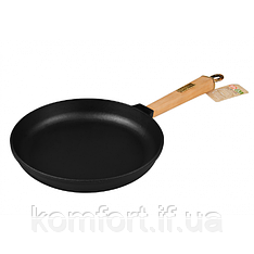 Сковорода чавунна Brizoll Класик К2440-Р 24 см