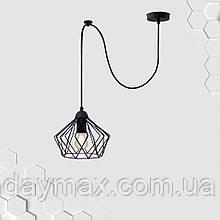 Підвісний світильник на 1-лампу CARAVAN/SP E27 чорний