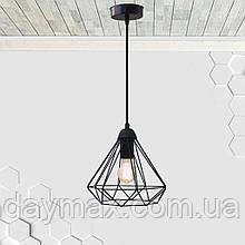 Підвісний світильник DIAMOND E27 чорний