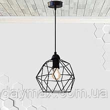 Підвісний світильник ANTHILL E27 чорний