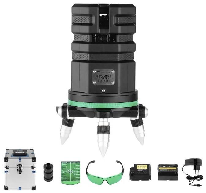 Лазерный уровень ADA 6D Servoliner GREEN (А00622)