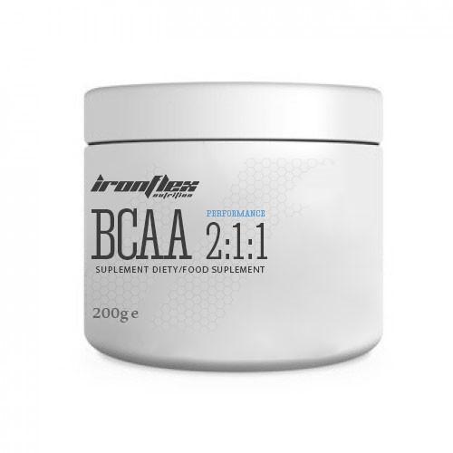 BCAA IronFlex BCAA 2-1-1 Performance, 200 грамм Апельсин