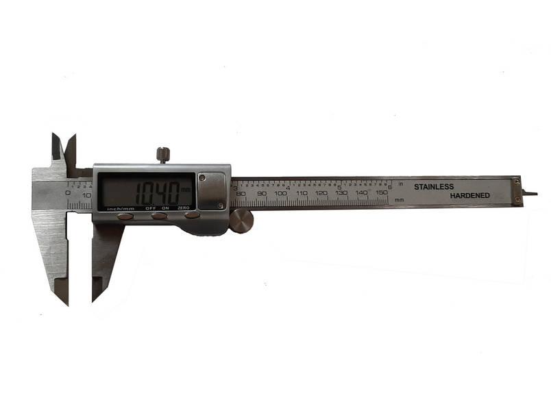 Штангенциркуль електронний в металевому корпусі 150mm, фото 2