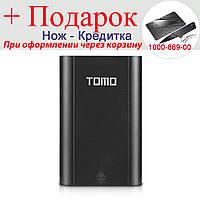 Корпус для Power Bank Tomo M4 с ЖК индикацией 4x18650  Черный