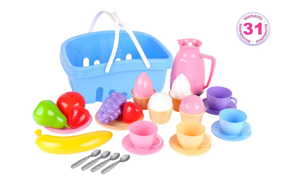 """Іграшка """"Набір посуду ТехноК"""" (7242)"""