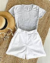 Шорты и футболка комплект женский, фото 2