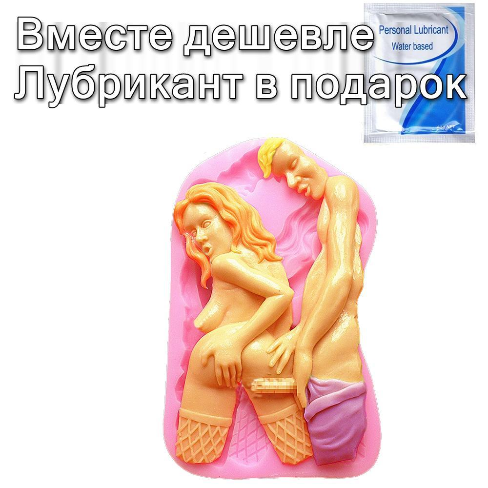Форма для мыла выпечки Sex силиконовая