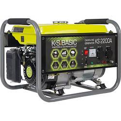 Бензиновый генератор KonnerSohnen BASIC KS 2200A ES, КОД: 1236953