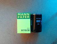 Фильтр масляный Mann W719/30 Audi VW Skoda Seat