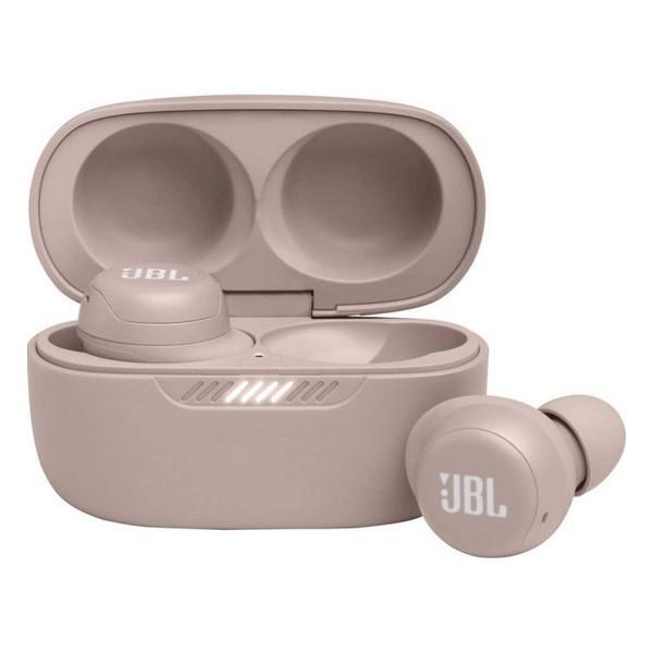 Навушники вакуумні бездротові з мікрофоном JBL Live Free NC + TWS Rose JBLLIVEFRNCPTWSR