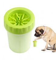 Стакан лапомойка для собак і кішок Lapomover Soft Gentle Bol чашка для миття та чищення лап тварин, фото 6