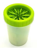 Стакан лапомойка для собак і кішок Lapomover Soft Gentle Bol чашка для миття та чищення лап тварин, фото 2
