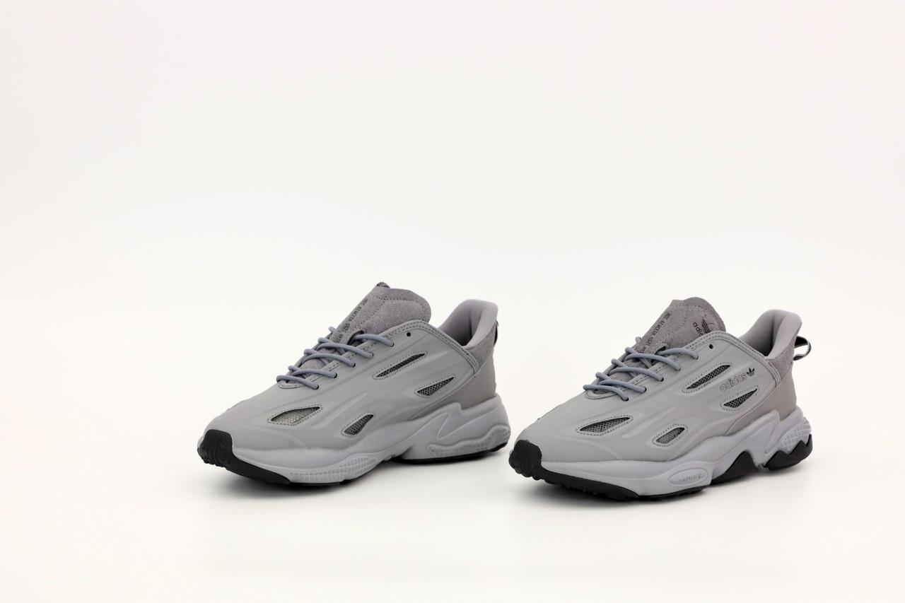 Чоловічі сірі Кросівки Adidas Ozweego Celox