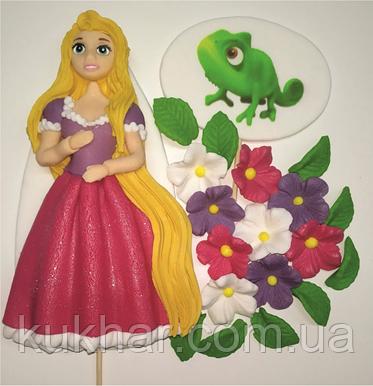 Украшение на торт принцесса Рапунцель