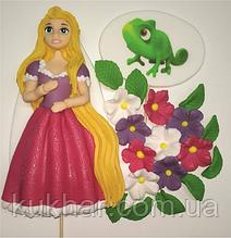 ПРикраси на торт Рапунцель