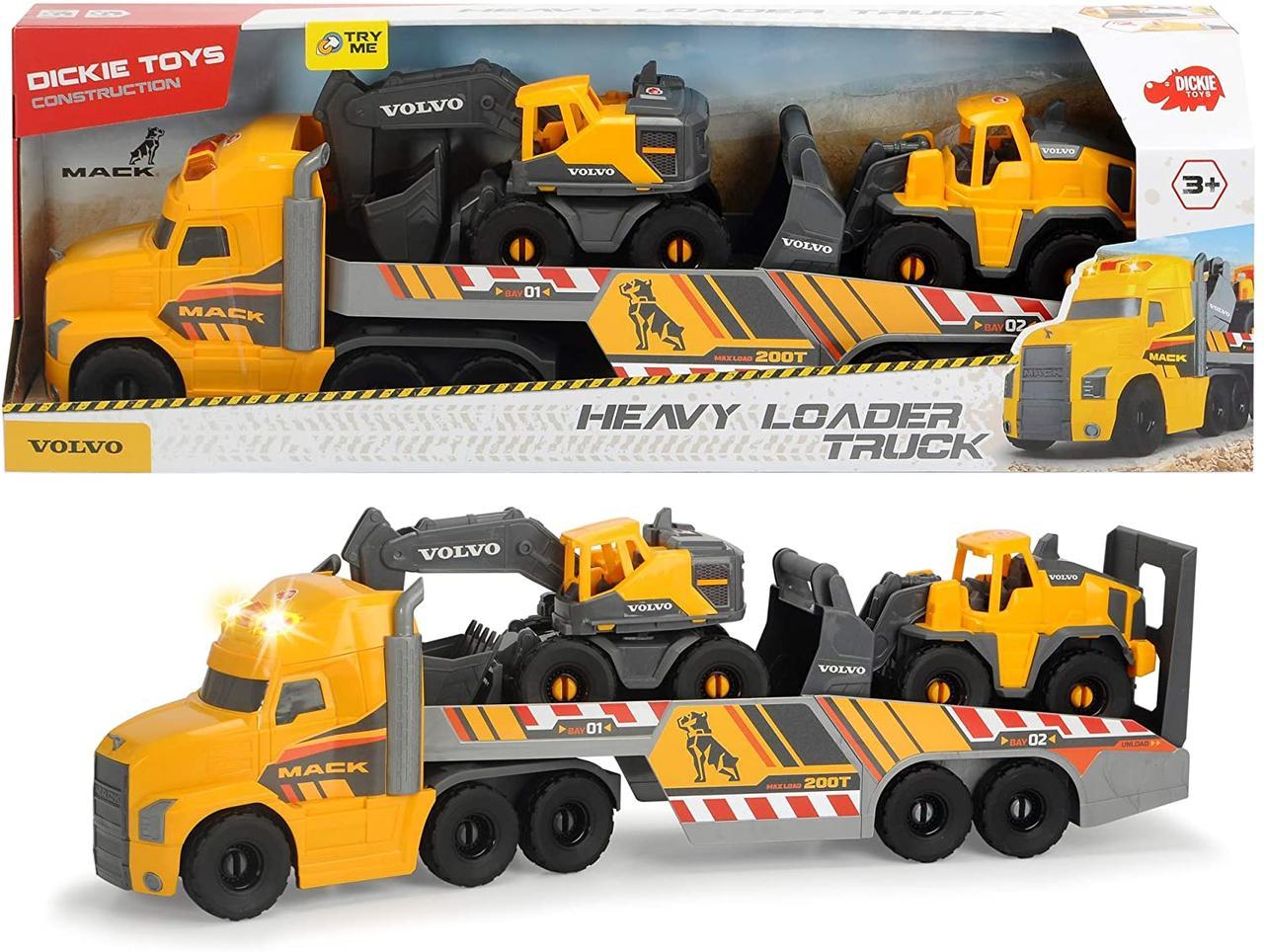 Ігровий набір Вантажівка Мак Вольво  Dickie Toys 3729012