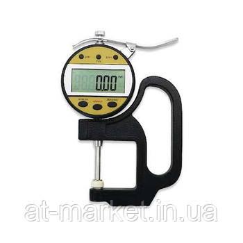Толщиномер цифровой индикаторный 0-25.4 мм (0.01мм) PROTESTER 5317-25