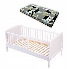 Детская кроватка с матрасом 120х60 см