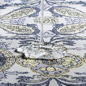 Декоративная ткань вензель золотой 19749v9 тефлон