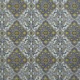Декоративна тканина золотий вензель 19749v9 тефлон, фото 2
