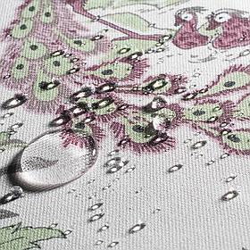 Декоративная ткань райский сад бордовый 20367v9 тефлон