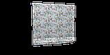 Декоративна тканина сакура червоне з жовтим на блакитному тлі 88137v6, фото 6
