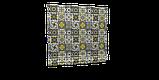 Декоративна тканина плитка золота 20286v8 180см Туреччина, фото 6