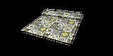 Декоративна тканина плитка золота 20286v8 180см Туреччина, фото 8