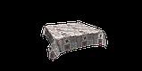 Декоративная ткань плитка рубин 20286v15 на тефлоне, фото 5