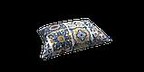 Декоративная ткань плитка синяя 20286v1 180см, фото 4