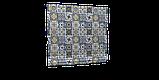 Декоративная ткань плитка синяя 20286v1 180см, фото 6
