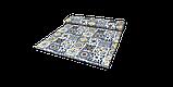 Декоративная ткань плитка синяя 20286v1 180см, фото 9