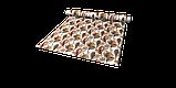 Декоративна тканина листя великі коричневі акварель Іспанія 280см 88096v7, фото 7