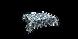 Декоративная ткань синие листья крупные акварель Испания 280см 88093v3, фото 3