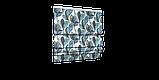 Декоративная ткань синие листья крупные акварель Испания 280см 88093v3, фото 6