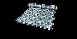 Декоративная ткань синие листья крупные акварель Испания 280см 88093v3, фото 7