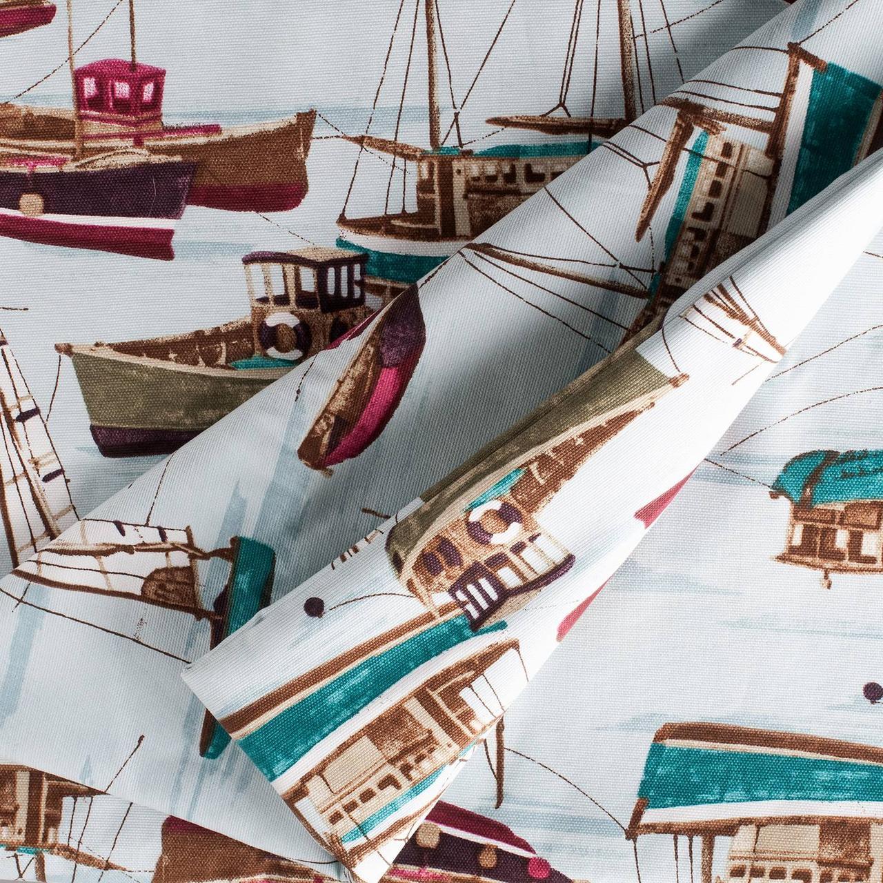 Декоративная ткань лодочки 180см Турция 88042v8
