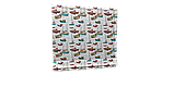 Декоративная ткань лодочки 180см Турция 88042v8, фото 5