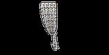Декоративна тканина човники 180см Туреччина 88042v8, фото 6