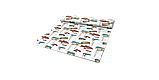 Декоративна тканина човники 180см Туреччина 88042v8, фото 8