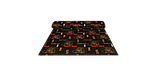 Декоративна тканина назви кавових напоїв на кавовому фоні Туреччина 88029v1, фото 8